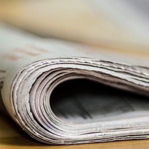 Zeitungsmeldung
